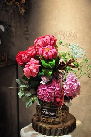 聖誕盆花~鮮花109120719