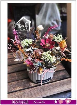 乾燥花設計 107072402