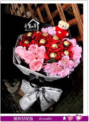 金莎花束c040751