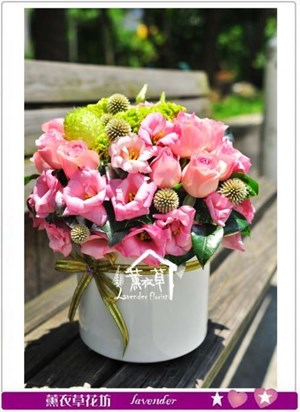 小品盆花設計b071612