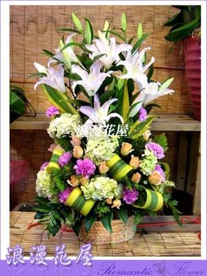 豪華盆花 F33