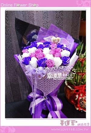 香氛玫瑰花束K0801