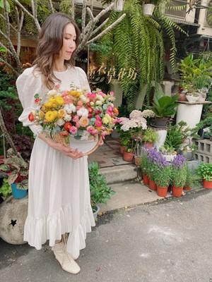 麥桿菊盆花設計 109042013