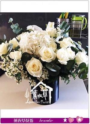 典雅盆花設計 106082401