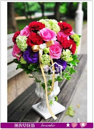 歐式盆花b043022