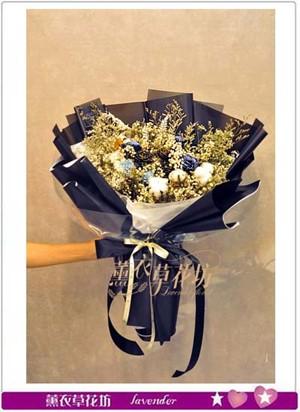 乾燥花/不凋花花束設計107092101