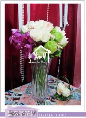 玻璃花設計aa5719