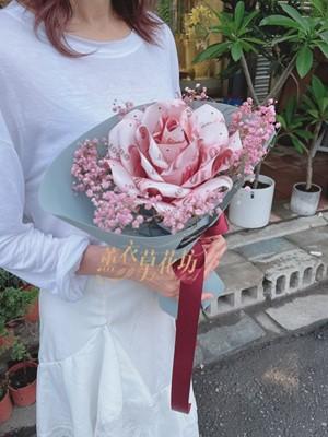 單朵鈔票玫瑰110071217