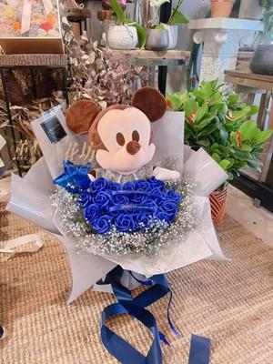米奇&香氛玫瑰花束110101622