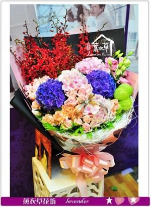 繡球花束a080501