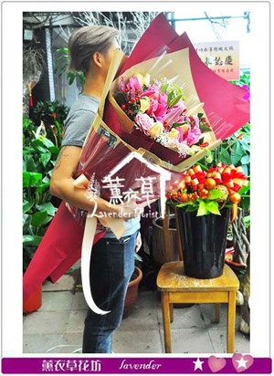 大型花束106033110