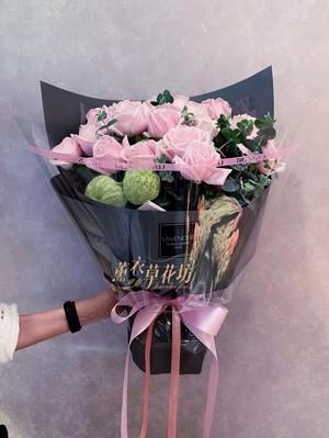 玫瑰花束20朵 107032713