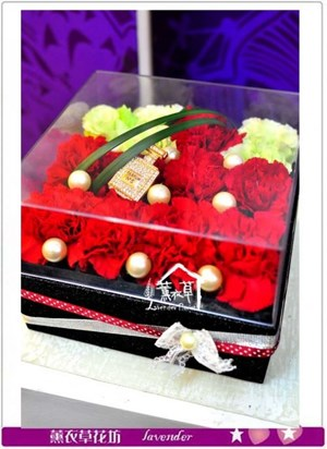 深情設計花盒a042706