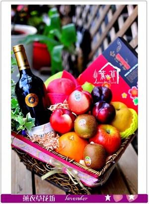 水果禮盆設計c090103