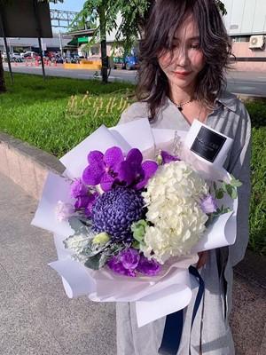 繡球花束設計108070508