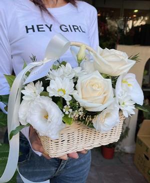 盆花~小品~提籃設計110040645