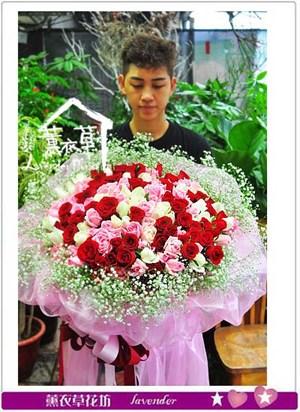 150朵玫瑰花束106060602