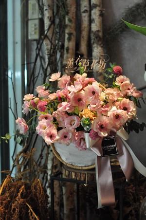蝴蝶陸蓮盆花設計 109041603