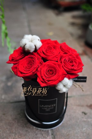 歐式玫瑰花盒109052906