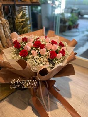 33朵 玫瑰花束 110072005