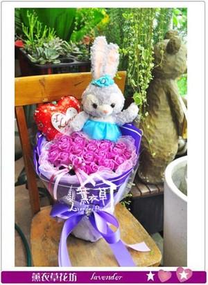 兔兔花束107060123
