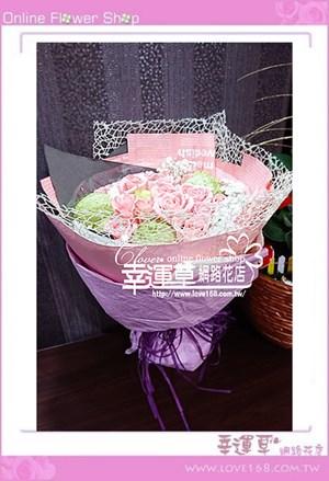 玫瑰花束A0324