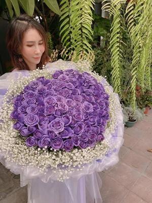 108朵紫色玫瑰花束108112808