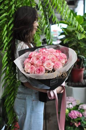 進口厄瓜多爾粉玫瑰~109052017