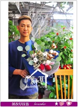 乾燥花花束 106091801