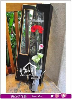 單枝花盒設計~不賣單枝-須搭配花束一起購買 107050908