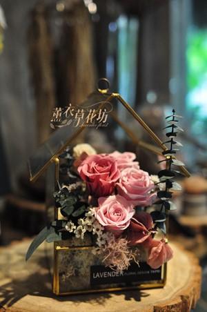 玻璃花屋~不雕花/乾燥花/小品設計 109102905