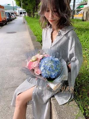 繡球花束108070510