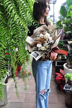 乾燥花花束108072418