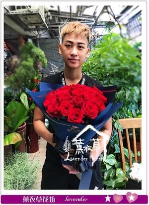 荷蘭進口紅玫瑰 106082617