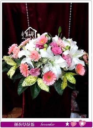 會議桌盆花設計b121216