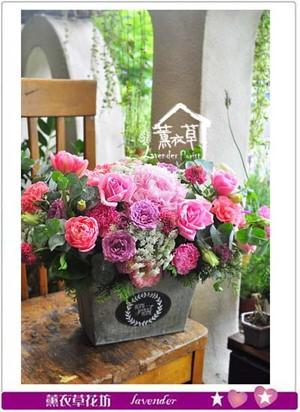 歐式盆花設計 107050704