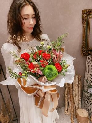 母親節/康乃馨/花束設計 109041907