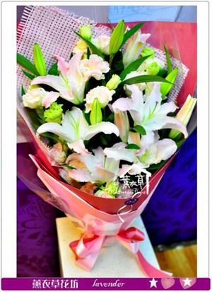 百合花束A030214