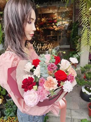 歐式花束設計110031809