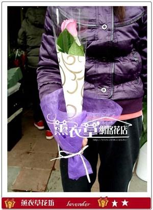單枝玫瑰花<BR>需搭配主商品一起購買y3879