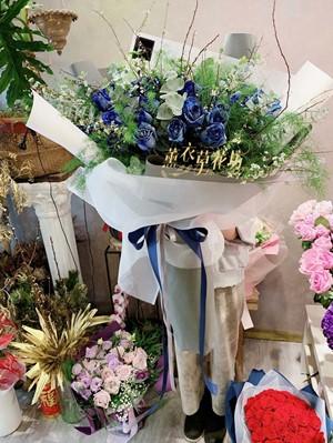 藍玫瑰99朵-台灣品種108021512