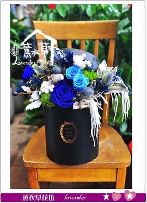 不凋花~歐式花盒~106031008