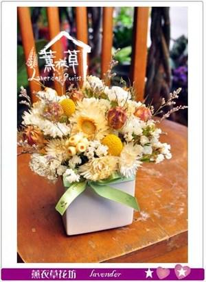 乾燥花設計2盆106031703