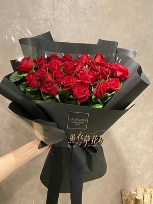 33朵紅玫瑰花束 109041913