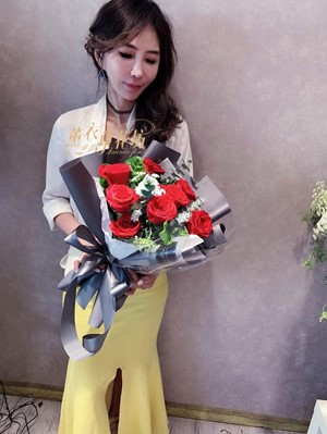 紅玫瑰花束 108041007
